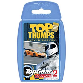 Winning Moves Sports Cars Trumfp Game With Cards - Sports cars top trumps