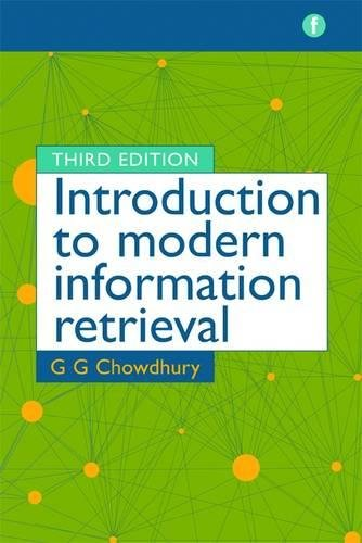 The Facet LIS Textbook Collection: Introduction to Modern Information Retrieval