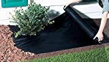 - Tessuto per controllo erbacce, 2 m x 100 m, Tappetino barriera