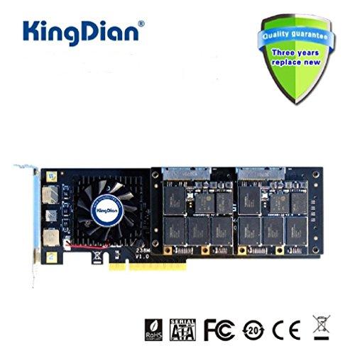 kingdian RAID 4TB SSD PCI-Express 3.0interne Solid State Drive für High-End-Video um & Video Capture & Server -