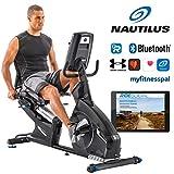 Nautilus Liegeergometer R628 - 14 kg Schwungradsystem - Nautilus Connect - Soundsystem und...