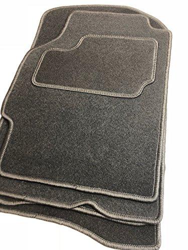 Velours Fußmatten bestehend aus vier Teilen in schwarz (O) (Teile 1996 Ford Mustang)