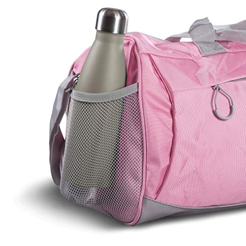 Fitgriff Sporttasche Pink Aussennetz