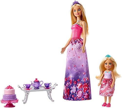 Barbie FPL88 - Dreamtopia Barbie und Chelsea Puppen Spielset, Puppen Spielzeug und Puppenzubehör ab 3 Jahren