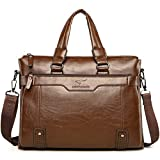 d0380d74a5 OCCIENTEC Sac Porte Document Femme Sac Business Homme Sac à Main Sacoche  Business Homme en PU
