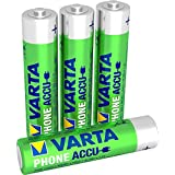 Varta - Phone Accus AAA (HR3) 800 mAh - 1,2V (4-Pack)