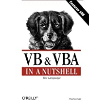 VB & VBA in a Nutshell: The Language (In a Nutshell (O'Reilly)) by Paul Lomax (1998-10-11)