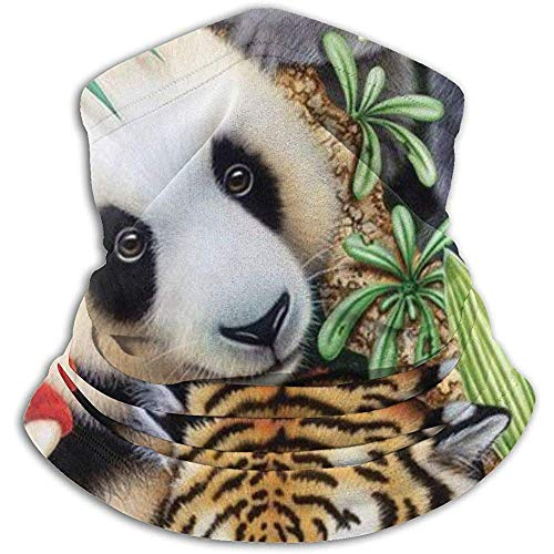 Kenice scaldacollo magia animale scaldacollo per tubo,fascia per auricolari e maschera per il viso massima ritenzione termica,versatilità e stile