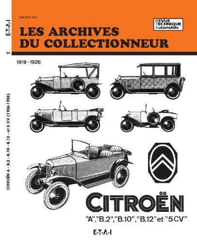 Citroën a – B2 – B10 – B12 (5 Cv) – N  14
