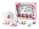 Besttoy Teeservice für Kinder 13-teilig Porzellan