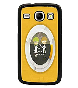 PrintDhaba Quote D-2918 Back Case Cover for SAMSUNG GALAXY CORE i8262 (Multi-Coloured)