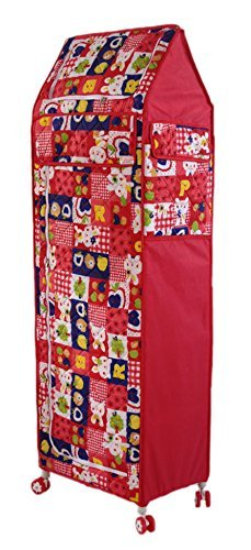 Amardeep Multipurpose Toy Box RED Rabbit Print 150*49*34 cms 0-7yrs 6Trays(XL)