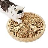 Cat Sleeping Mat solido legno gatto che graffia Board sisal Grabing Board Patterned Carpet paglia Grabing Board climbing Frame anti-grasp giocattolo