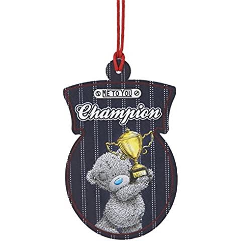 Champion Me To You Bear-Orsetto peluche, Ali Air Freshener-Deodorante per auto con motivo