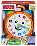 "Fisher-Price CDK06 ""Laugh and Learn"" Counting Colours Clock"