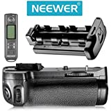 Neewer® mando a distancia con Pantalla LCD empuñadura Apretón de batería Battery Grip Reemplazo para MB-D11 Funciona con batería EN-EL15 para Nikon D7000