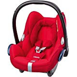 Maxi-Cosi CabrioFix 0+ (0-13 kg; 0-15 meses) Rojo - Silla de coche (0+ (0-13 kg; 0-15 meses), 3 puntos, Rojo, ISOFIX)