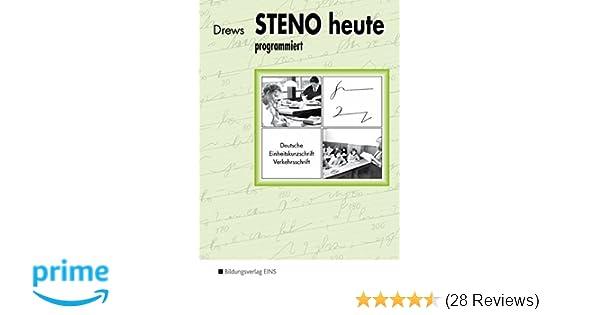 Stenographie Heft A5 16 Blatt