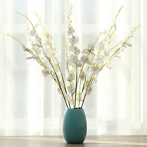 SE7VEN Décoration de vase en porcelaine/simulation fleur décor fleur art-Q