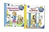 Ravensburger Junior Bücher Set - Wieso? Weshalb? Warum? Zähne putzen, Pipi machen und Bei uns zu Hause