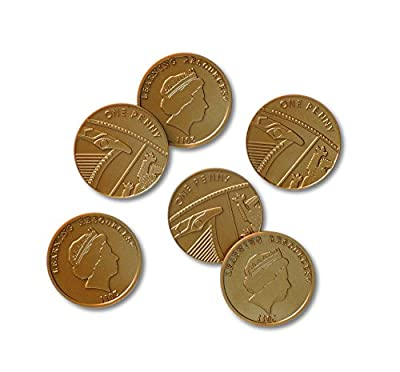 Learning Resources One Pence Coins, Set of 100 by Learning Resources