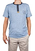 Tom Tailor Herren T-Shirt blau