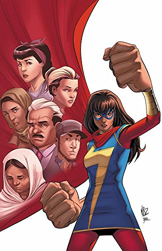 Ms. Marvel Vol. 8: Mecca - Ms-team 8.