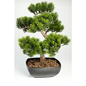 Bonsa pin artificiel en coupe 198 pines 50 cm for Arbre bonsai exterieur