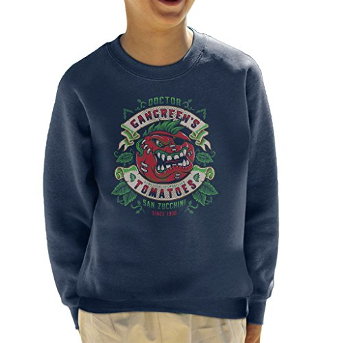 Attack Of The Killer Tomatoes Doctor Gangreens GM Tomatoes Kid's Sweatshirt