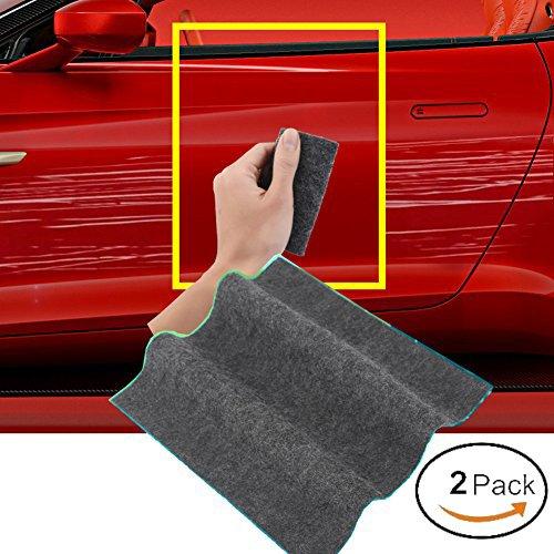 Kratzer-reparatur-remover (Magische Auto Kratzer Remover Auto Kratzer Reparatur Tuch Nanomaterial Oberfläche Automobil Licht Farbe Kratzer Remover Auto-reparatur-werkzeuge (2 Stücke))