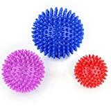 Timberbrother Spiky Massage Balls (Soft): A CONVENIENT WAY TO RELIEVE PAIN AND DISCOMFORT - Massage specific muscle groups on any part of the body. You control depth of massage by applied pressure.  - Effective in providing temporary relief from plan...