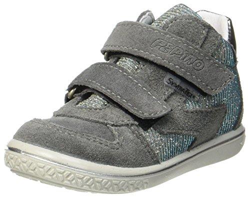 RICOSTA Mädchen Kaya Hohe Sneaker, Patina/Himmel, 00023 EU