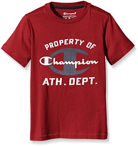 champion-bambino-t-shirt-auth-cottjerseyath-rosso-m-304299-f16