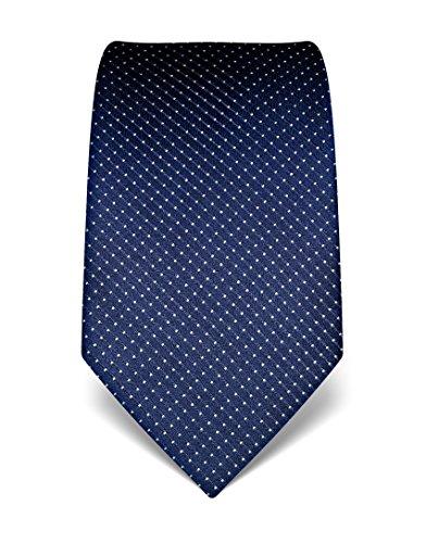 vb-cravatta-a-pois-uomo-blu-scuro-taglia-unica