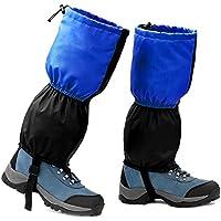 Philonext Polainas de senderismo, Polainas de senderismo de montaña, Caza de acampada Escalada Al aire libre Polainas de nieve Polainas de abrigo de pierna alta impermeable y transpirable para hombres
