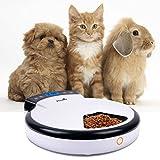 TD Design® Automatisierte Futterspender für Hunde & Katzen | Trocken- und Nassfutter – 5 Mahlzeiten, 5 x 240ml - 2