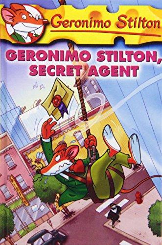 Geronimo Stilton, Secret Agent by Geronimo Stilton (6-Jan-2009) Library Binding