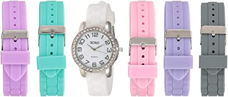 XOXO Watch Set Analog Display Quartz for Women UTIGS001