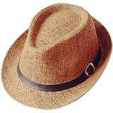 Da.Wa Sombrero del verano de los hombres / de las mujeres Sombrero del sol del sombrero de Sun