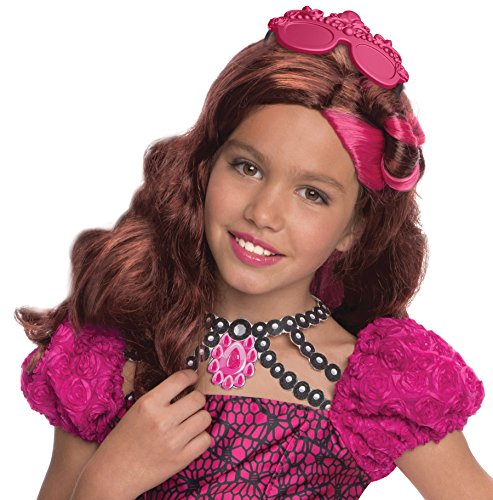 MATTEL Ever After High Briar Beauty Perücke, Kinder Kostüm–EINE Größe (Briar Beauty Kostüm)