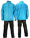 Ralka Komfort für Erwachsene Regenanzug, Blau Anthrazit, XXL