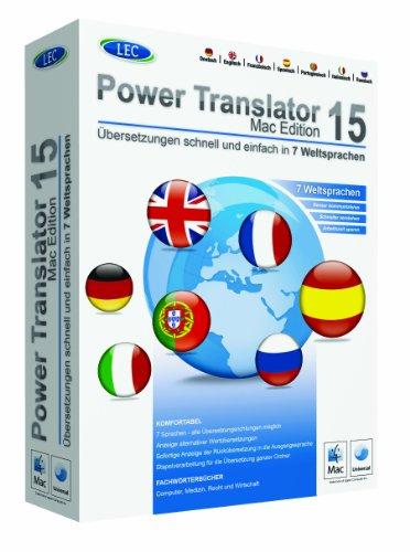 Power Translator 15 für Mac  (MAC) – Power Translator 15 für Mac  (MAC)