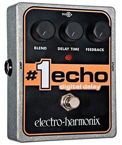 ELECTRO HARMONIX #1 ECHO #1 ECHO PEDAL   PEDAL DE EFECTO ECO PARA GUITARRA  COLOR PLATEADO