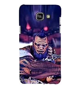 EPICCASE the evildoer Mobile Back Case Cover For Samsung Galaxy A5 (2016) (Designer Case)