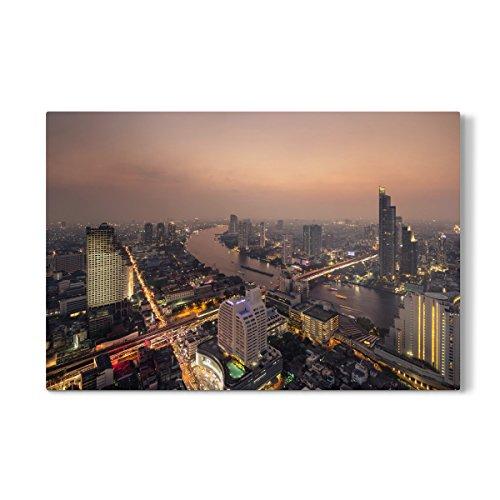 "artboxONE Galerie-Print 150x100 cm Bangkok 10"" hochwertiges Acrylglas auf Alu-Dibond Bild - Wandbild von Tom Uhlenberg"