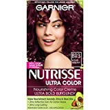 BR3 Intense Burgundy , 1-Count : Garnier Nutrisse Ultra Color Nourishing Color Creme, BR3 Intense Burgundy (Packaging May Vary)