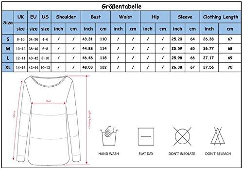 Yidarton Damen Pullover Oversized Rippe Knitted Batwing Baggy Jumper Top Strickjacken Z-Rotwein