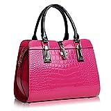 AASSDDFF Frauen Taschen Luxus Handtaschen Berühmte Designer Frauen Crossbody Taschen Casual Designer High Quality NEUEInnen Reißverschluss Tasche, Pink