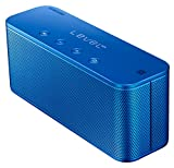 Samsung Level Box Mini Wireless Bluetooth NFC Lautsprecher Kompatibel mit iPhone, iPad, iPod, Smartphone, Tablet und MP3 Player, blau