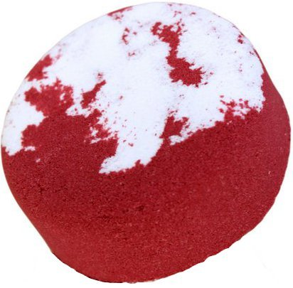 Pear Drop Bath Bomb Cake - 200gr. Bath bomb cake with pear fragrance. Size: approx. 90 x 30 mm.. the ideal present - great for Birthdays, Christmas......
